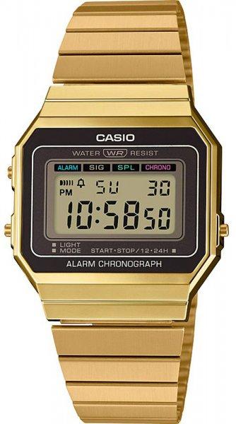 Zegarek Casio A700WEG-9AEF - duże 1