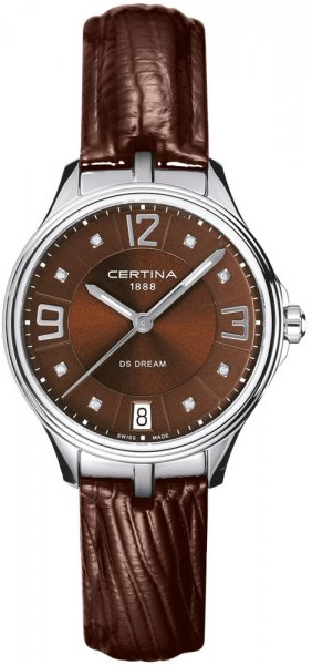 Zegarek damski Certina ds dream C021.210.16.296.00 - duże 1