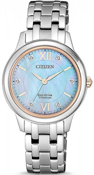 Zegarek Citizen EM0726-89Y - duże 1