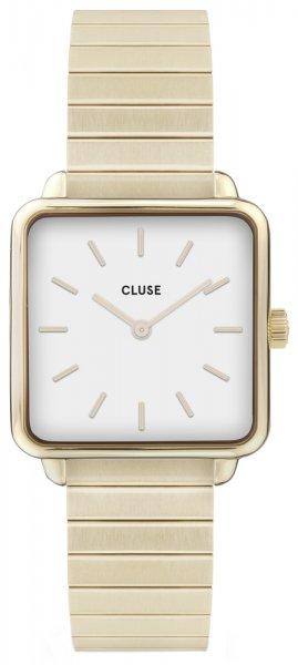 Cluse CL60023S La Tetragone Single Link Gold/White
