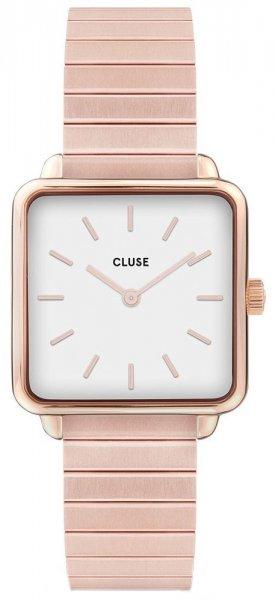 Cluse CL60024S La Tetragone Single Link Rose Gold/White