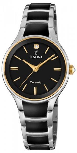 F20474-4 - zegarek damski - duże 3