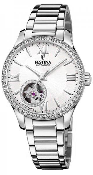 Festina F20485-1 Classic Open Heart Automatic