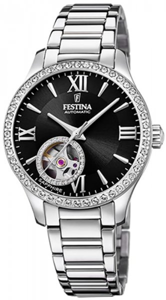 Festina F20485-2 Classic Open Heart Automatic