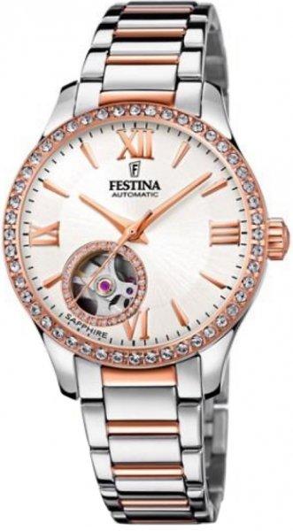 Festina F20487-1 Classic Open Heart Automatic