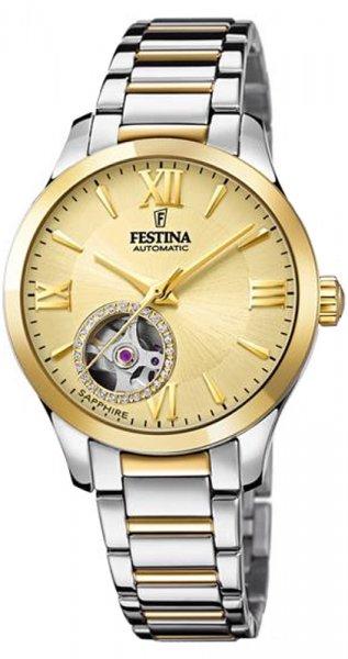 Festina F20489-2 Classic Open Heart Automatic