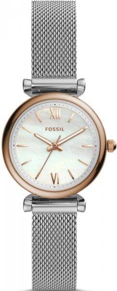 Zegarek damski Fossil carlie ES4614 - duże 3