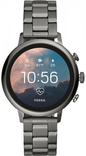 Fossil Smartwatch FTW6019 Fossil Q Gen 4 Smartwatch Venture HR Smoke Stainless Steel