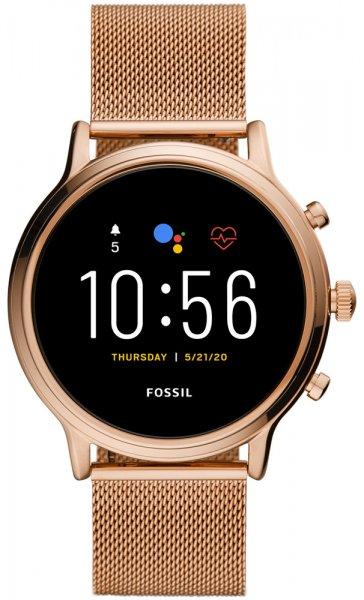 Fossil Smartwatch FTW6062 Fossil Q GEN 5 SMARTWATCH JULIANNA HR ROSE GOLD