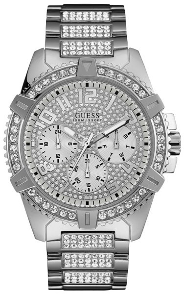 Zegarek męski Guess bransoleta W0799G1 - duże 1