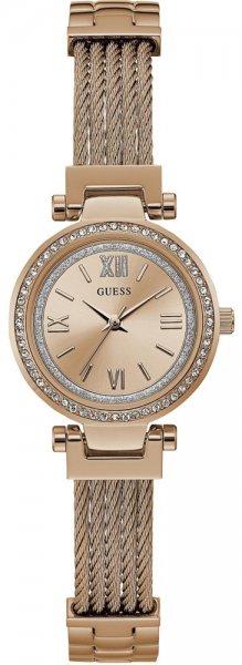 Zegarek damski Guess bransoleta W1009L3 - duże 1