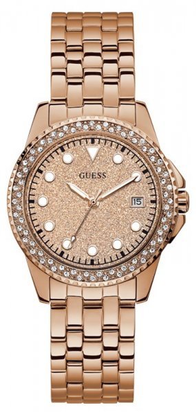 Zegarek damski Guess bransoleta W1235L3 - duże 1