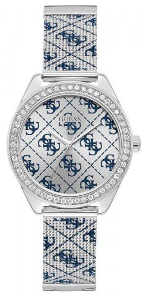 Zegarek damski Guess bransoleta W1279L1 - duże 1