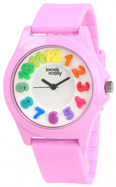 Zegarek dla dziewczynki Knock Nocky rainbow RB3624006 - duże 1
