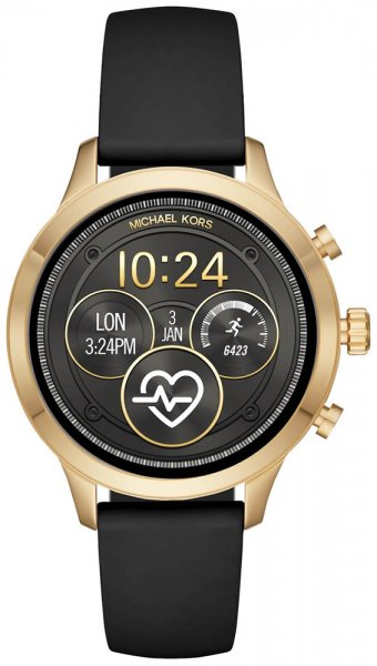 Michael Kors MKT5053 Access Smartwatch Runway Gold Tone and Silicone Smartwatch