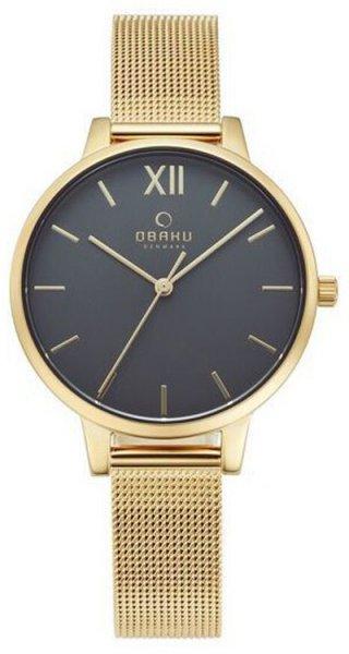 Zegarek Obaku Denmark V209LXGJMG - duże 1