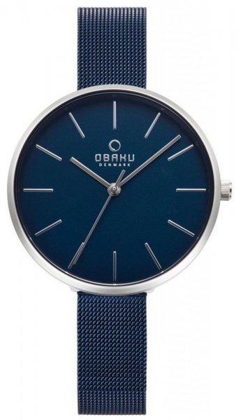 Zegarek damski Obaku Denmark bransoleta V211LXCLML - duże 1