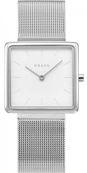 Zegarek damski Obaku Denmark bransoleta V236LXCIMC - duże 1