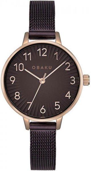 Zegarek damski Obaku Denmark bransoleta V237LXVNMN - duże 3