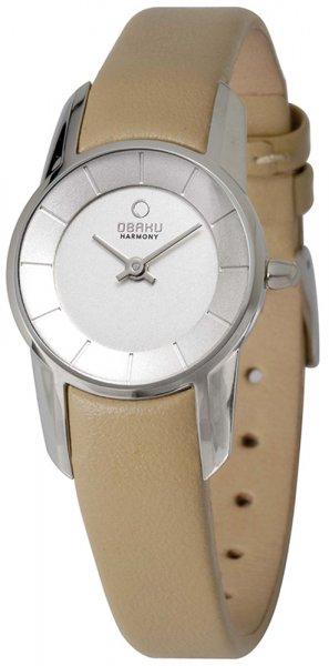 Zegarek damski Obaku Denmark pasek V130LCIRX - duże 1