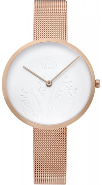 Zegarek Obaku Denmark HASSEL NATUR - ROSE - damski  - duże 3