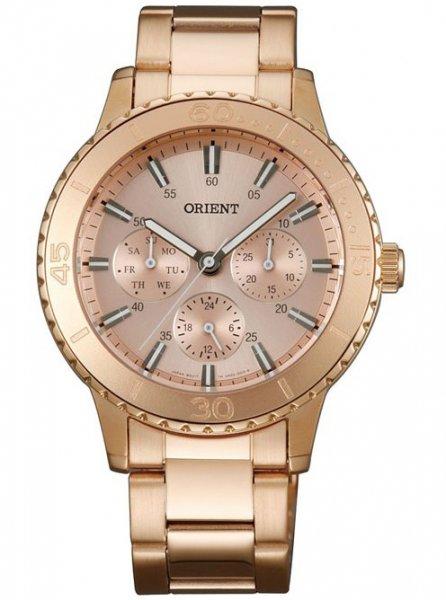 Zegarek damski Orient contemporary FUX02002Z0 - duże 3