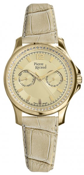 Zegarek damski Pierre Ricaud pasek P21049.1V51QFZ2 - duże 1