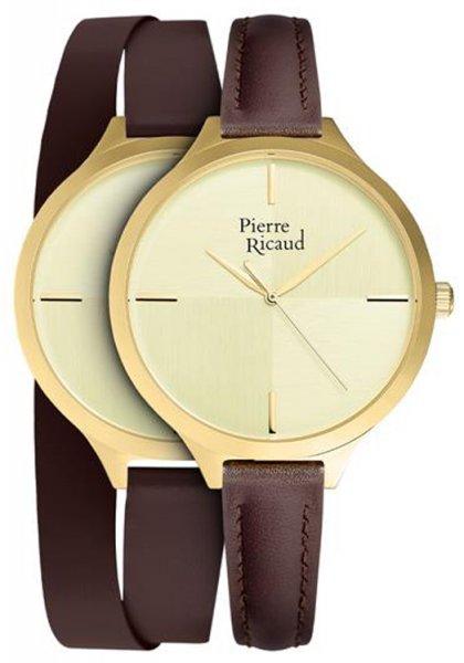 Zegarek Pierre Ricaud P22005.1B11LQ-SET - duże 1