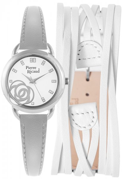 Zegarek Pierre Ricaud P22017.5G13Q-SET - duże 1