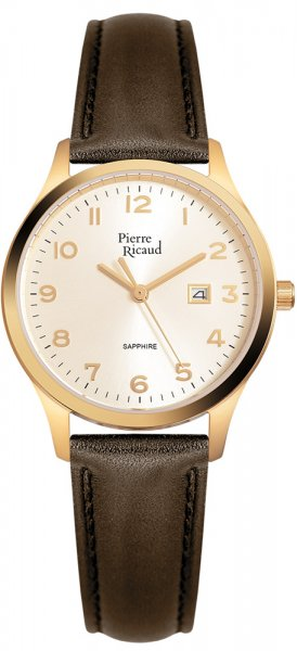 Zegarek damski Pierre Ricaud pasek P51028.1B21Q - duże 1