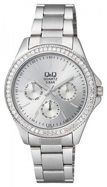 Zegarek damski QQ damskie CE01-201 - duże 1
