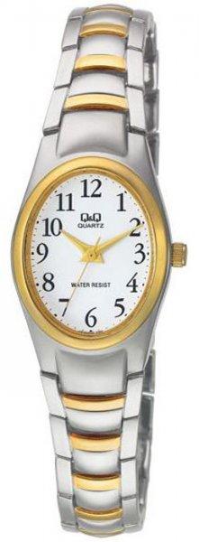 Zegarek damski QQ damskie F279-404 - duże 1