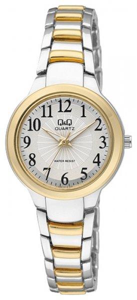Zegarek damski QQ damskie F499-404 - duże 1