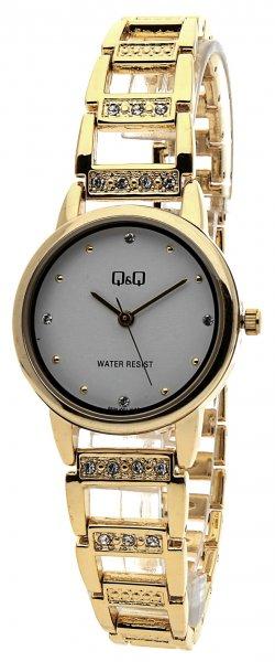 Zegarek damski QQ damskie F635-001 - duże 1