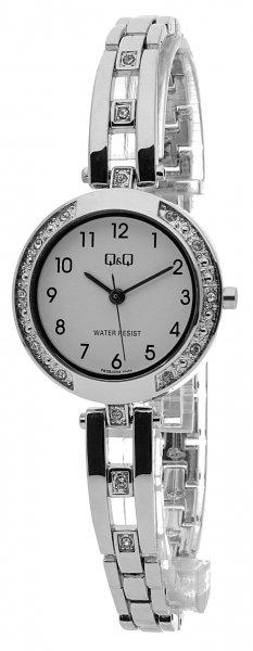 Zegarek damski QQ damskie F639-204 - duże 1