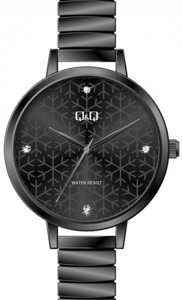 Zegarek damski QQ damskie QB49-412 - duże 1