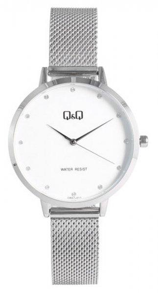 Zegarek damski QQ damskie QB57-211 - duże 1