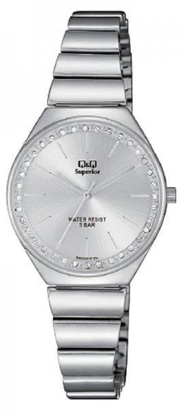 Zegarek damski QQ damskie S293-201 - duże 1