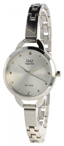 Zegarek damski QQ damskie S327-201 - duże 1