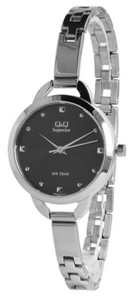 Zegarek damski QQ damskie S327-212 - duże 3