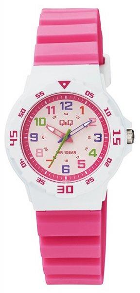 Zegarek dla dziewczynki QQ dla dzieci VR19-012 - duże 3
