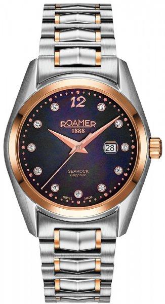 Zegarek damski Roamer searock 203844 49 59 20 - duże 1