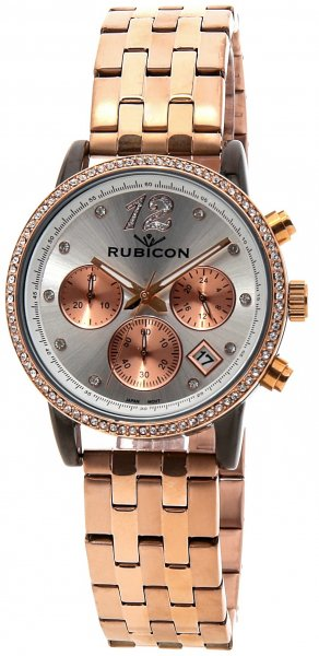 Zegarek Rubicon RNBD10TISZ03AX - duże 1