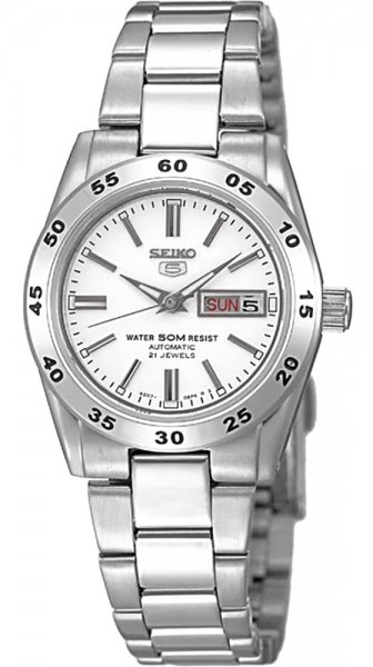 Zegarek Seiko 5 Automatic Lady - damski  - duże 3