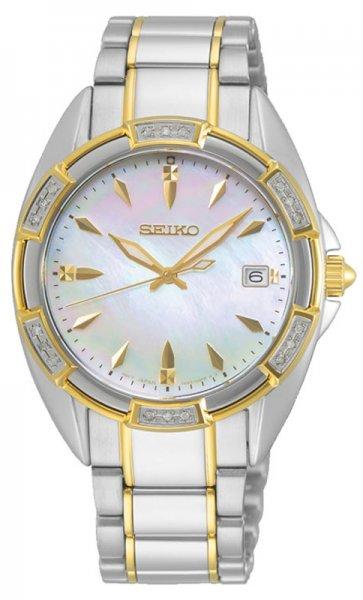 Zegarek damski Seiko classic SKK880P1 - duże 3