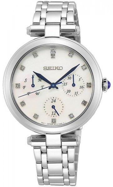 Zegarek damski Seiko classic SKY663P1 - duże 3