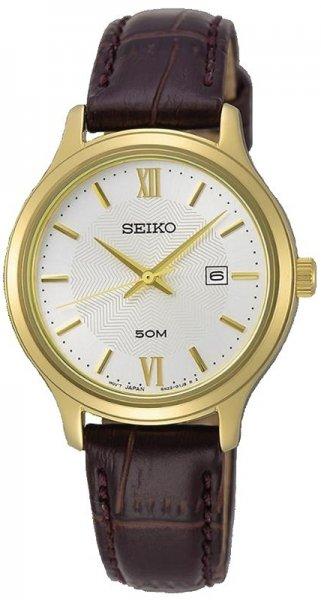 Seiko SUR644P1 Classic Neo Classic Quartz Analog Womens Watch