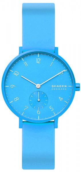 Skagen SKW2818 Aaren Aaren Kulor Neon Blue Silicone
