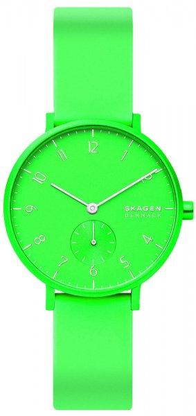 Skagen SKW2819 Aaren Aaren Kulor Neon Green Silicone
