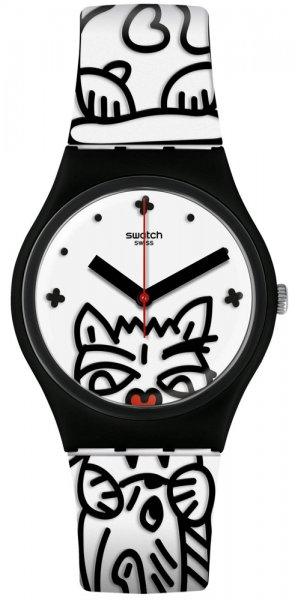 Zegarek Swatch GB322 - duże 1